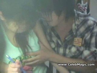 Spycam young asian schoolgirl