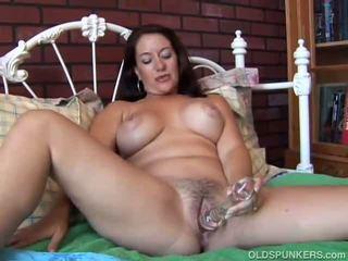 Sexy MILF is feeling horny