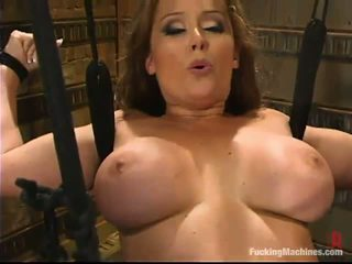 Bosomy موم christina carter has satisfied بواسطة ل عمل الحب device