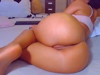 Hot Big Round Ass POV Doggy Tight Fat Cameltoe Pussy.