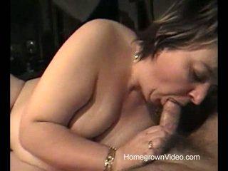 brunette, big dick, bbw