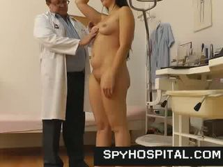 A hidden cam installed in unlicensed gyno hospital
