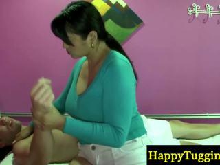 حقيقي التايلاندية masseuse playthings قريب إلى zonker