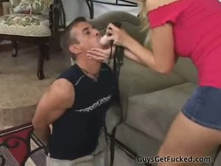 Kelly Wells StrapOn fucks a thief