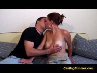 Young busty french first anal tape