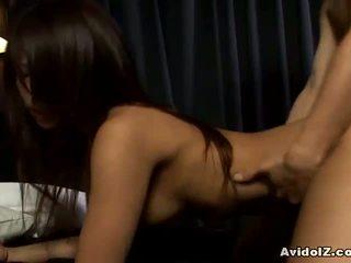 Akira ichinose futand și pițigoi jet de sperma