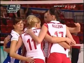 Poland volley punggung
