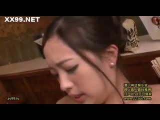 Mlada žena šef seduced osebje 06