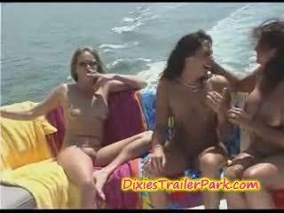 barco, lésbica, milf