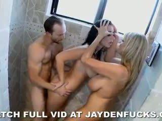Jayden james - jayden jaymes ir karstās un seksuālā