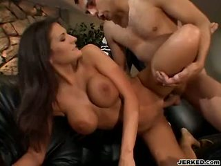 Austin Kincaid Getting Pounded On Her Hairless Vagina In The Sofa