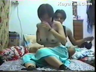 Malay warga cina pasangan seks bawah tersembunyi kamera