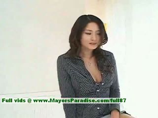 Risa Innocent Chinese Girl Gives A Cute Blowjob To Her Guy