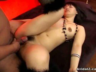 Akane ozora gets и двете на тя holes fucked1