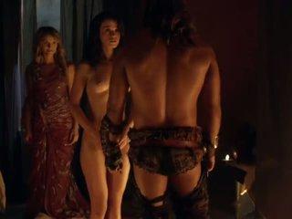 Spartacus sexe scènes complication