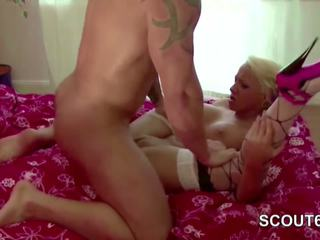 Young German Couple in Real Privat Hardcore Fuck and.