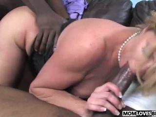 Two Big Black Dicks for Mom Ginger Lynn, Porn 0f