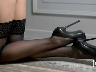 lesbians, high heels, cindy hope
