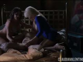 Claudia Valentine And Erica Lauren 3 Way With Wolf Hudson