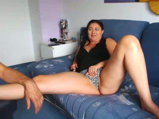 Matura italiano milf mostra fica su cam, porno f7