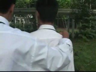 Tailandesa boys estudo pausa