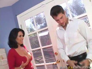 Sienna west krūtinga brunetė kūrva gets ištvirkęs ir having malonumas su a guy