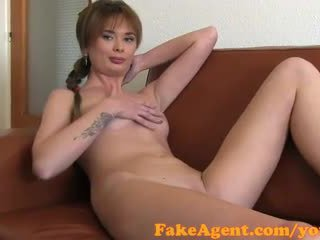 FakeAgent Shy amateur gets spunk on he...