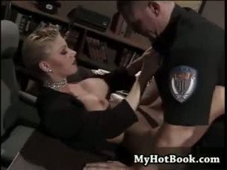 big boobs, one, police