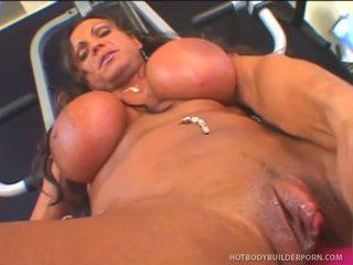 Rhonda lee works rod fontana s love muscle
