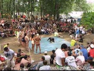 Strippers competing 為 思念 裸體 north america 獎