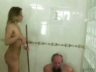 Ado punishing grand-père