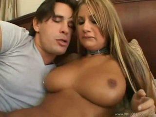 brünette, große brüste, anal sex