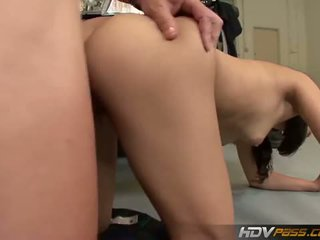 HDV Pass: Naughty schoolgirl banged by a policeman
