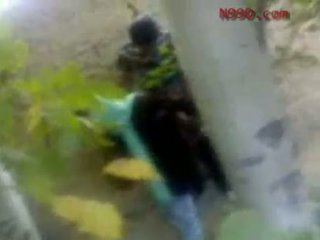 Arab iranian ragazza scopata in il culo in il woods