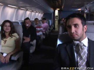 حار الفتيات having جنس في ل airplane xxx