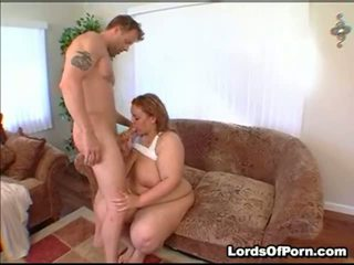 Ana Proves That Large Charming Honeys Need Lovin' Too. This R