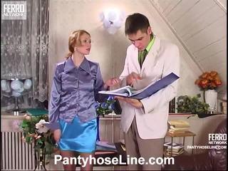 閃光絲襪, 著名放養的女孩, 色情絲襪景點