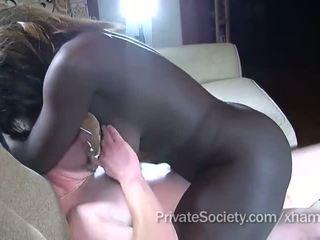 coño afeitado, cock sucking, interracial