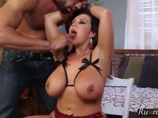 Sheridan 爱 tied 为 一 骑 高清晰度 big-tits, 玩具, 性交, 褐发女郎, 高清晰度, po