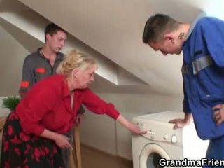 máma, old pussy, babička