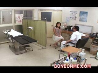 japanilainen, webcam, lääkäri