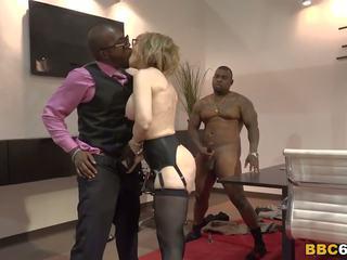 Nina hartley interracial gangbang, gratis porno b0