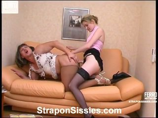 Good Collection Of Strapon Porn Movs From Strapon Sissies