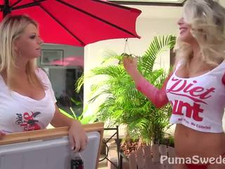 Diet כוס! puma swede & vicky vette!