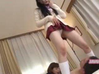 Bello seductive coreano ragazza scopata