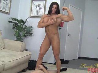 Angela salvagno - muscle neuken