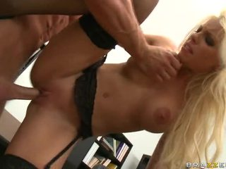 Licking And Fucking Blonde Bitch