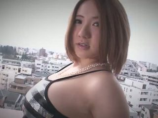 Alice ozawa gives en japan blowjob og fucks two guys