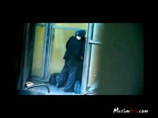 Hijab Teacher Caught Kissing By Spycam