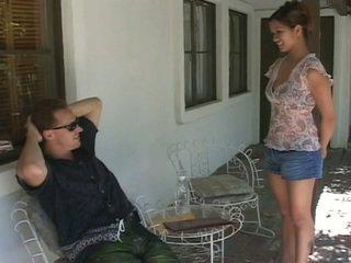 可愛 亞洲人 青少年 gets 她的 緊 的陰戶 性交 硬
